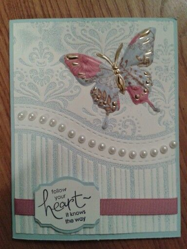 BUTTERFLY CARD USING THAT FOLDER.