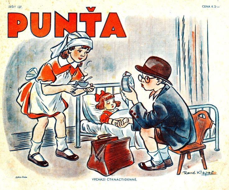 Poslední ročník časopisu PUNŤA – 8.ročník – 1942 – Staré časopisy pro děti a mládež v souvislostech