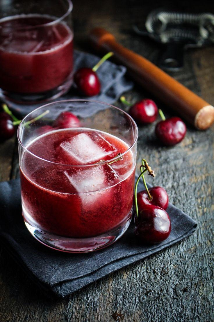 Cherry-Chocolate Bourbon Soda