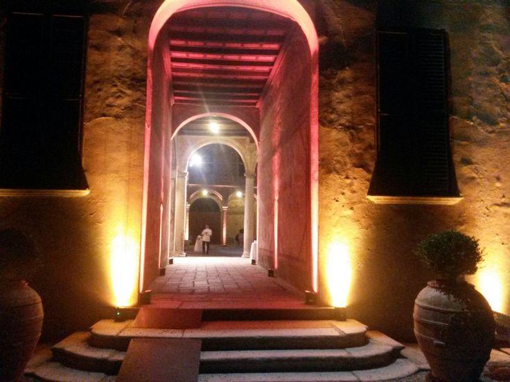 Arco della corte nobile