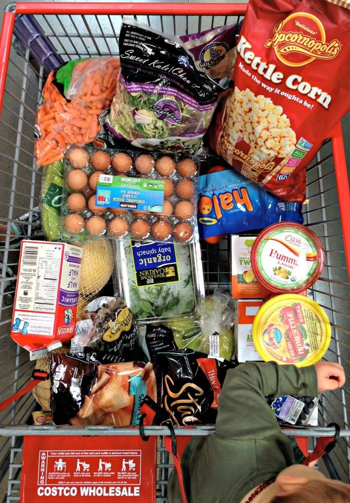 My Go-To Costco Shopping List. A great list of healthy {and some non-healthy} items at Costco that every family needs! on dreambookdesign.com
