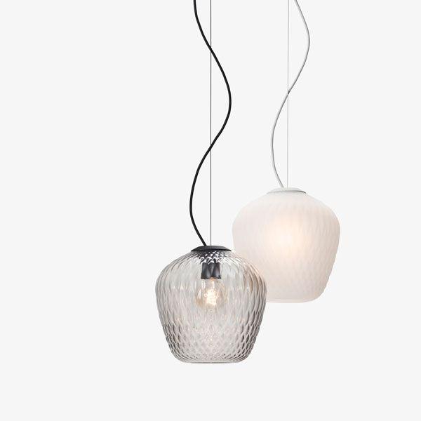 Samuel Wilkinson Design Interior Glas Lampe Light Hngeleuchte Ceiling Lamp Skandinavisch Scandinavian Einrichtung Einrichten Wohnzimmer