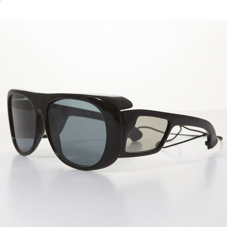 Fishing Sunglasses - 80s Polarized Glass Lens Sporty Vintage Fishing Sunglass -LERNER