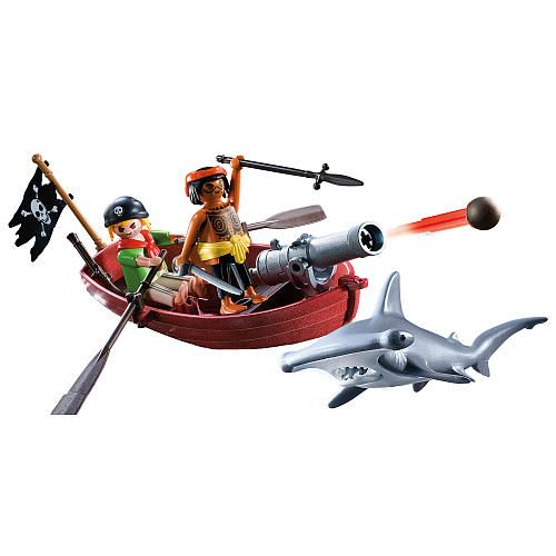 Playmobil Pirates Rowboat With Shark Playmobil Toys Quot R