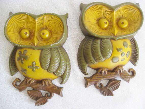 Beautiful Owl Metal Wall Decor Motif - Wall Art Collections ...