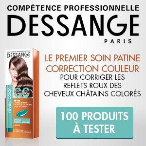 Testez le Soin Patine Correction Couleur #Cheveux Châtains Colorés Réveil'Color par #Dessange ! #cadeaux #gratuit #beauté