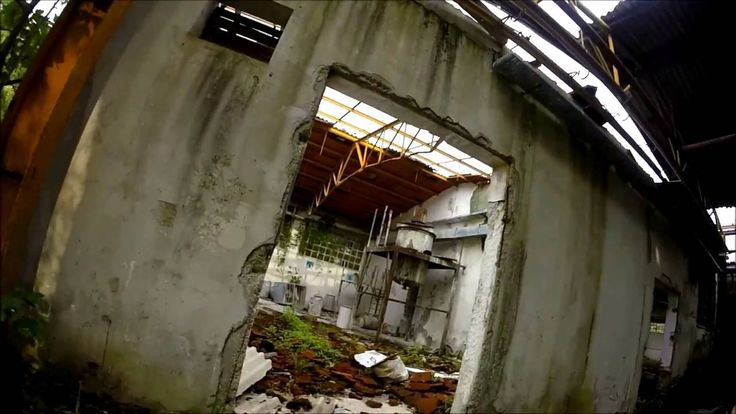 Abandoned places in Croatia - Old Factory of Vrelo Une (GoPro Hero)