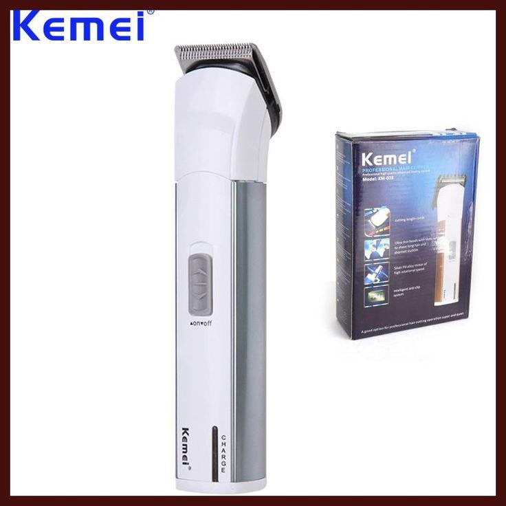 KEMEI Professional Electric Hair Clipper Trimmer Razor Battery Rechargeable Hair Cutting Machine aparador de barba BT-120