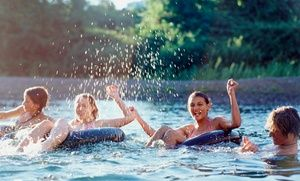 Groupon - One Float River Tubing Experience for Two or Four at Comal River Toobs (Up to 59% Off)  in Comal River Toobs. Groupon deal price: $38