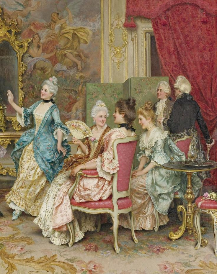 L'ancienne cour : Arturo Ricci - A game of tag