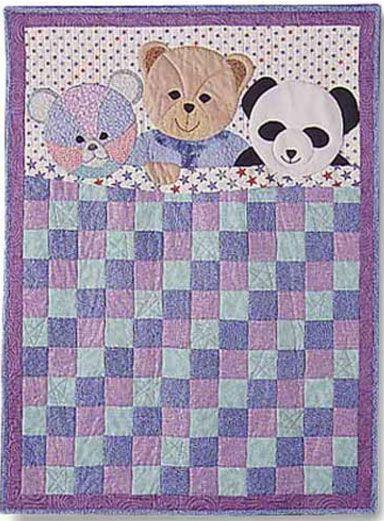 My Three Bears Kids Quilt Pattern By Garden Trellis