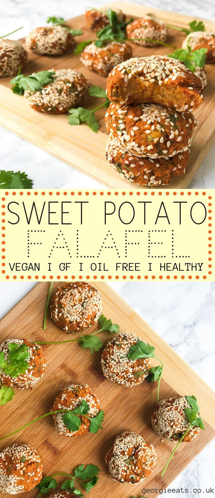Perfectly spiced and absolutely delicious! These falafels are baked and not frie…