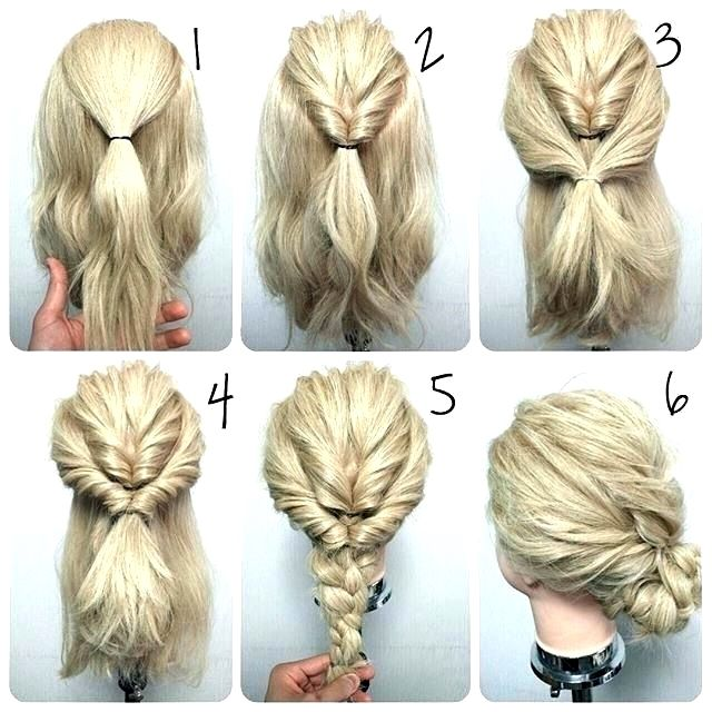 Formal Hairstyles For Shoulder Length Hair Braided Do Prom Half Up Hairstyles For Medium Leng In 2020 Medium Hair Styles Thick Hair Styles Medium Length Hair Styles