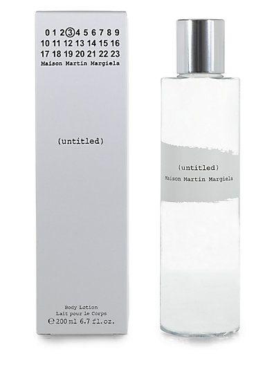 Maison Martin Margiela untitled Maison Martin Margiela Shower Gel #packaging