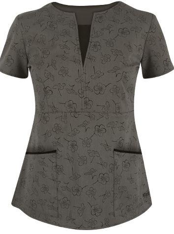 Grey's Anatomy Signature Series Scrubs Black Thea STRETCH Print Top  Style #  2114BKT $31.99 http://www.medicalscrubsmall.com/medical-scrubs-brands/greys-anatomy-scrubs/black-thea-scrub-top.asp