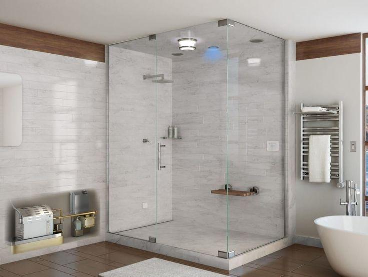 """<p>Até a sua casa de banho merece ser remodelada: coloque novas estantes, substitua o tipo de luz, compre uma nova cortina de banho ou instale portas de vidro. </p><p>Para mais ideias, recorra ao trabalho de um<a rel=""""nofollow"""" href=""""https://www.homify.pt/profissionais/decoradores"""">decorador</a>.</p>   Credits: homify / Nordic Saunas and Steam"""