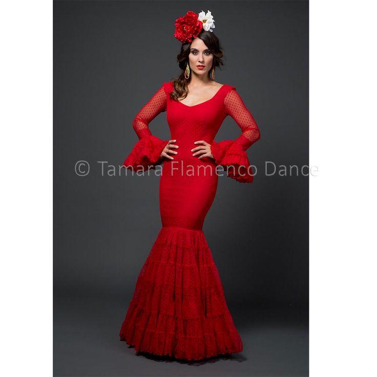 Modelo Amelia de la coleccion Tamara Flamenco Dance 2015  https://www.tamaraflamenco.com/es/amelia/trajes-de-flamenca-2015-mujer-543#.VdbvQ_ntlBc