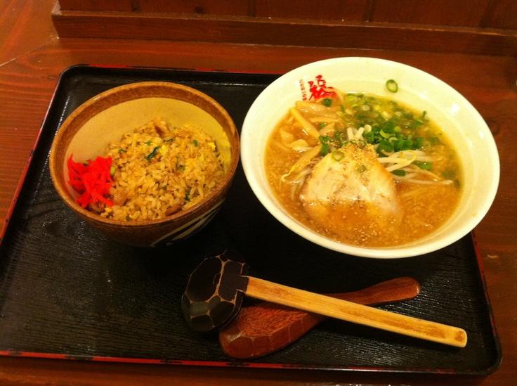 福ちゃんラーメン 浜松舞阪店   チャーハンセットにしました。