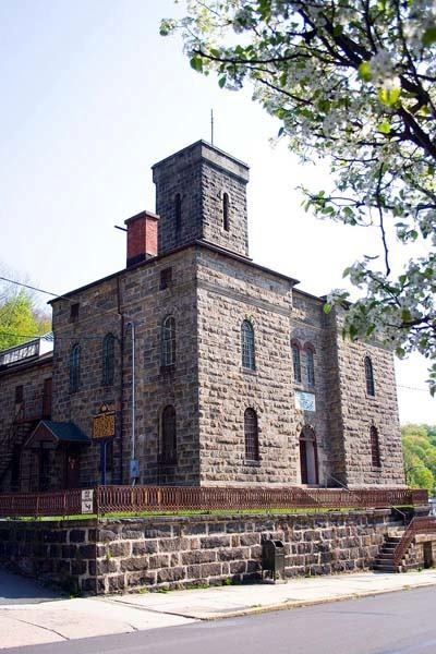the Prison in Jim Thorpe PA =nh  >where the Molly Maguire's were held