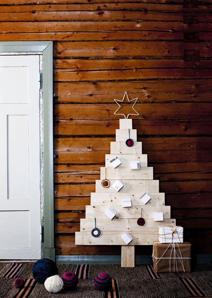 6 alternative diy weihnachtsb ume ganz ohne kitsch. Black Bedroom Furniture Sets. Home Design Ideas