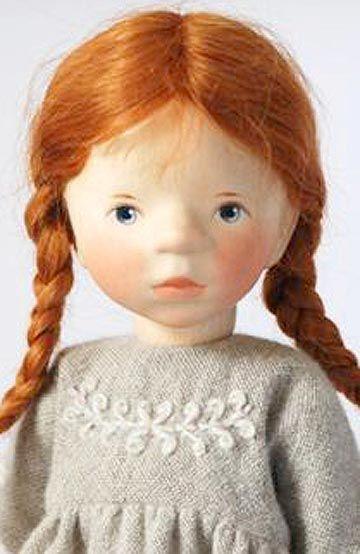 Girl In Wool Dress 2011 H310 by Elisabeth Pongratz
