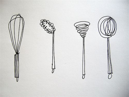 kitchen ustensils: Embroidery Patterns Kitchen, Embroidery Patterns Coloring, Elsiemarley, Flickr, Whisk, Embroidery Hearth, Crafts Embroidery, Tin Cans