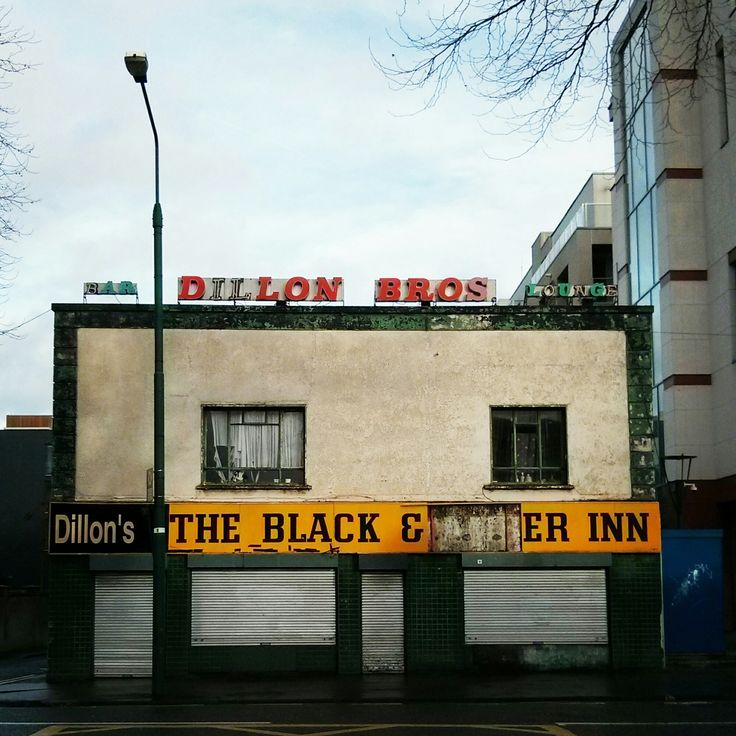 Dillon Bros. The Black and Amber Inn. #Dublin #DublinGhostSigns