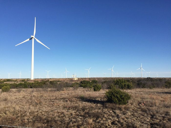 Texas leads the nation in wind energy, while wind turbine technician is the fastest-growing job in the U.S. The industry flourished under former Gov. Rick Perry, Trump's new energy secretary.