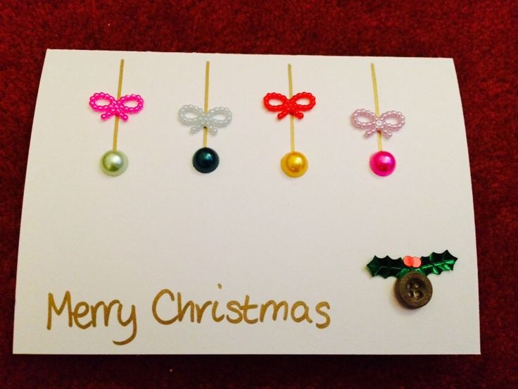 Second Homemade Christmas Card (2014)
