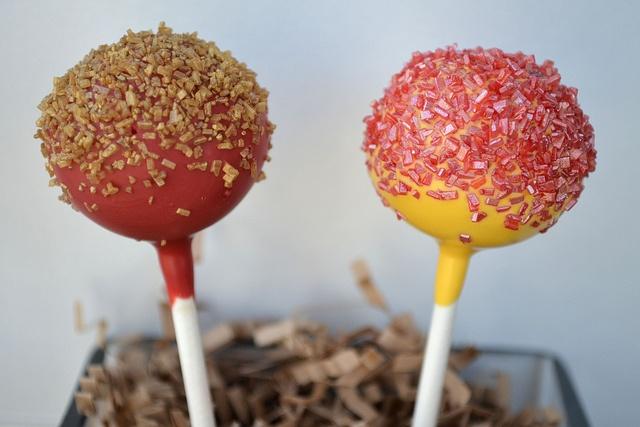 Redskins Cake Pops