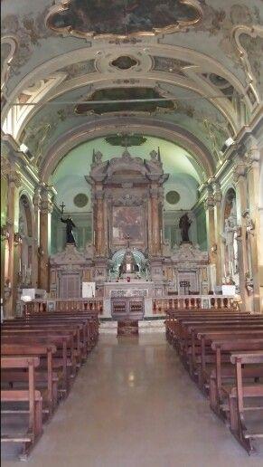 Cosimo Fanzago, altare di Gesu' e Maria, Pescocostanzo aq.