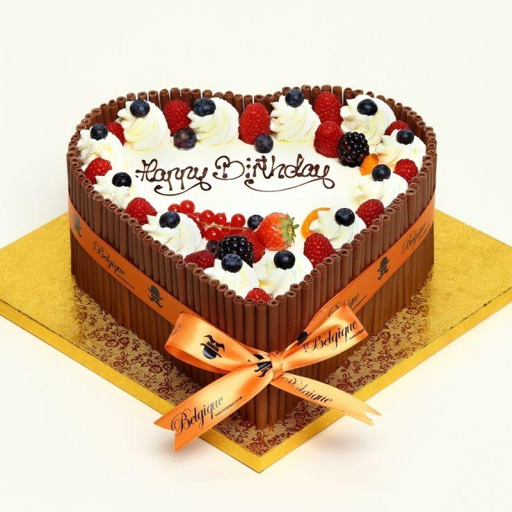 Cafe Belgique Birthday Cakes