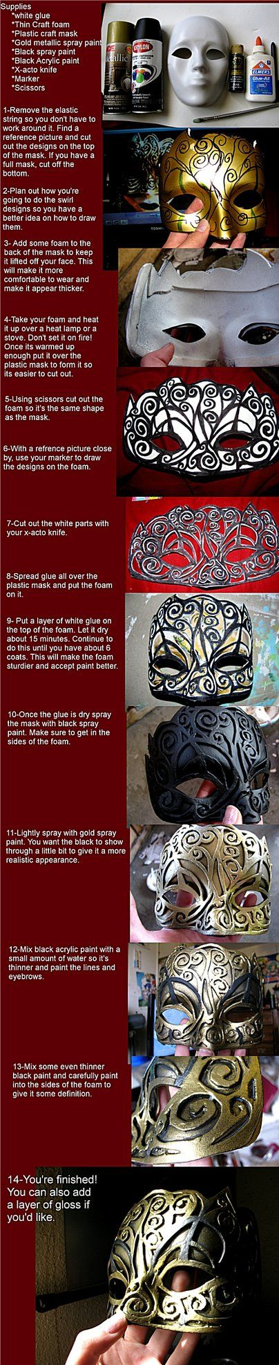 Mask tutorial