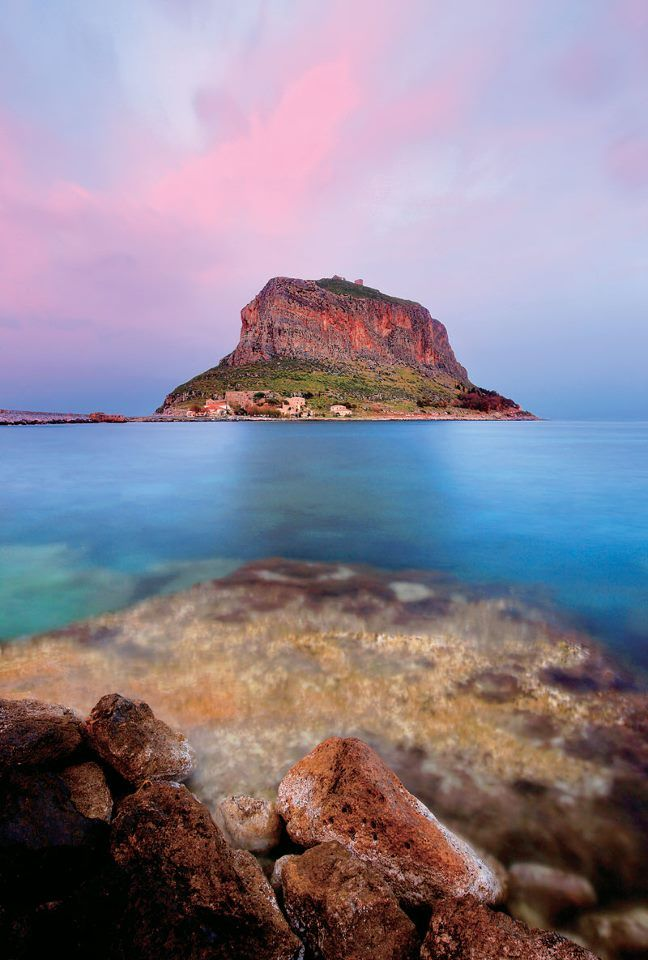 Monemvasia, Greece. It's really this beautiful!