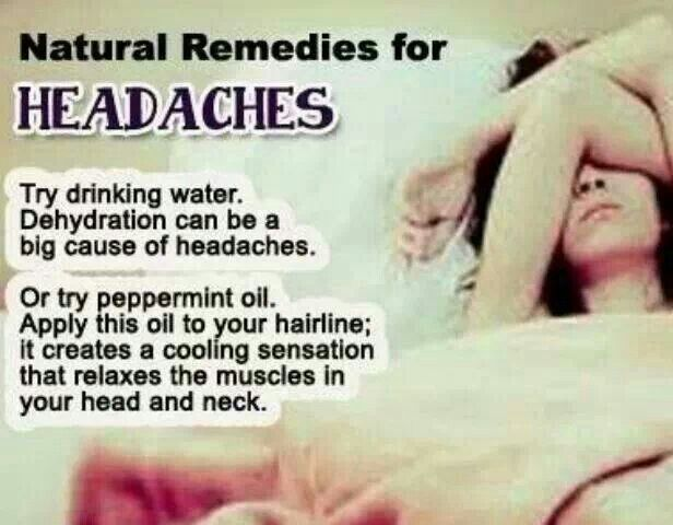 Quick Remedy For Headache Naturally