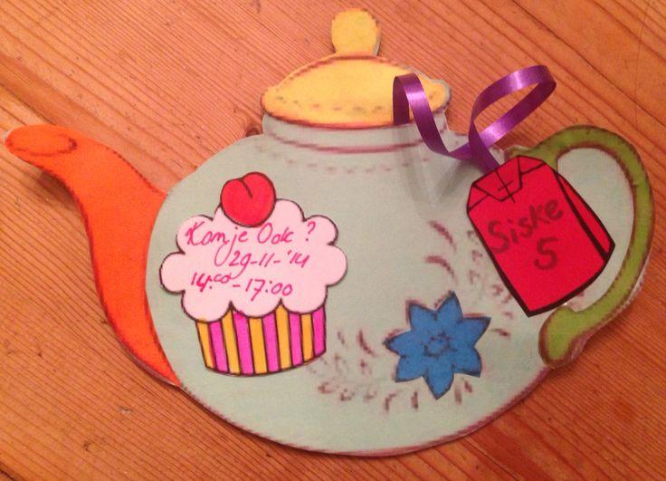 High Tea feest Kinderfeest Meisje 5 jaar oud
