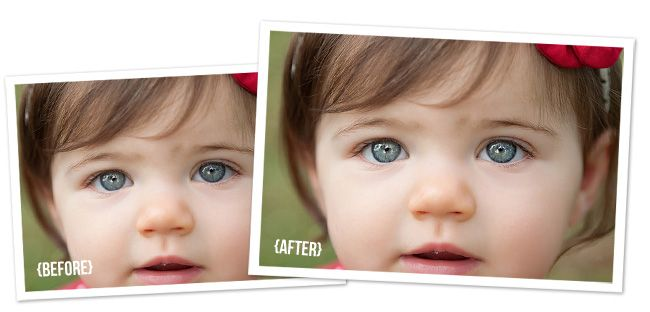How to Make Eyes Sparkle in Photoshop {Plus a FREE Action!}   Polished Picture