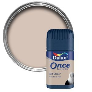 Dulux Soft Stone Matt Emulsion Paint 50ml Tester Dulux Soft Stone Matt Emulsion Paint 50ml Tester Pot.This Soft stone emulsion paint has been specially designed to give a stunning finish to your walls  ceilings. Simply apply one coat with a brush o http://www.MightGet.com/april-2017-1/dulux-soft-stone-matt-emulsion-paint-50ml-tester.asp