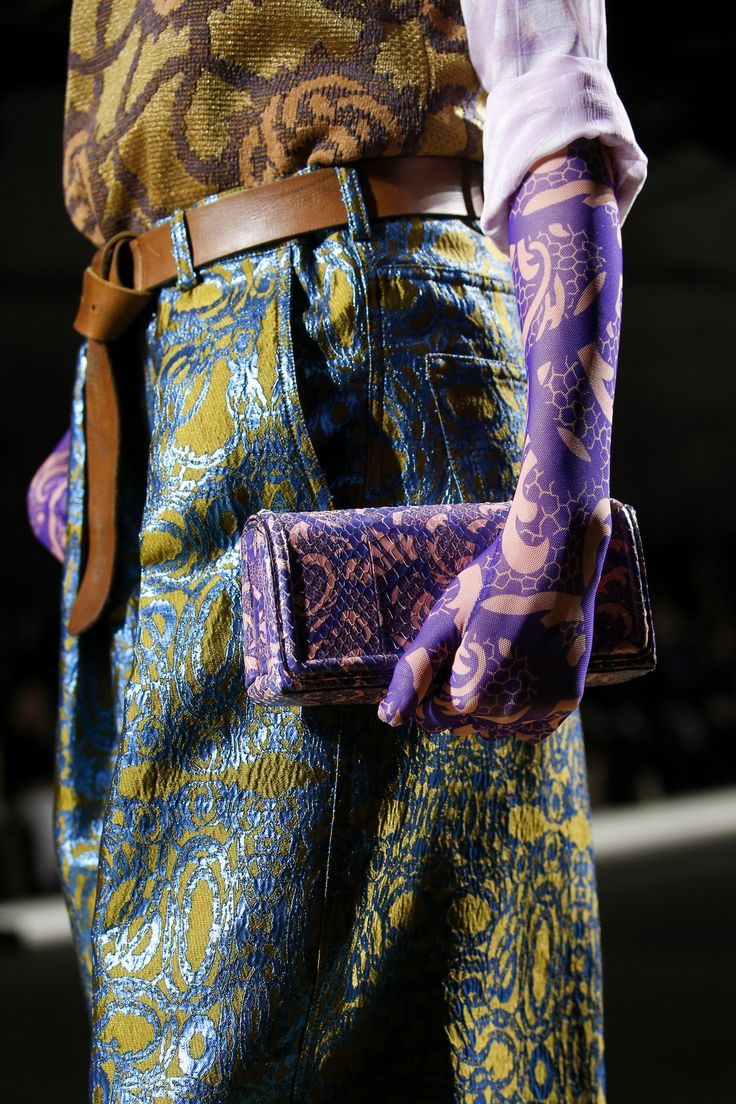 Dries Van Noten Spring 2016 Ready-to-Wear Accessories Photos - Vogue