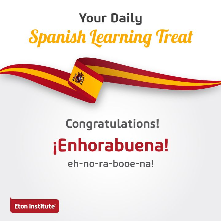 Celebrate everyday moments with family and friends! Reach out to them with a hearty 'Congratulations' in Spanish.