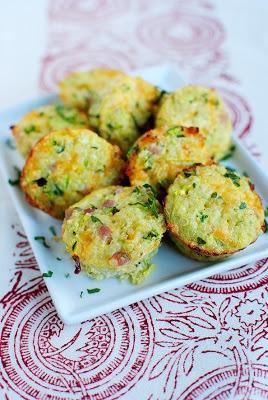 Mini Ham and Cheese Quinoa Cups breakfast breakfastrecipe recipe @Iowa Girl Eats