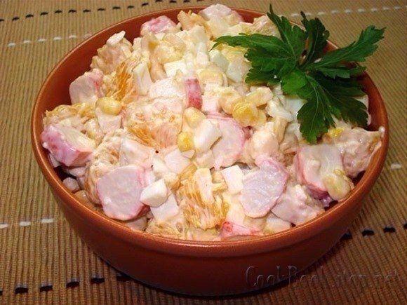 Фото к рецепту: Салат по-королевски.