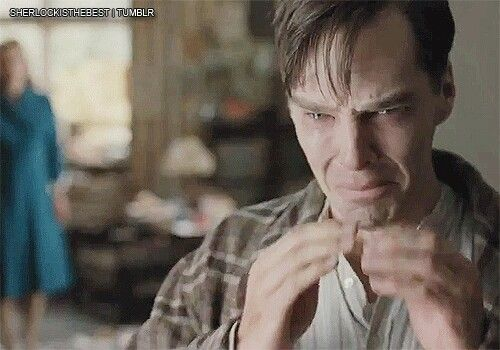 The Immitation Game  This was the most emotional movie I've ever seen with Benedict