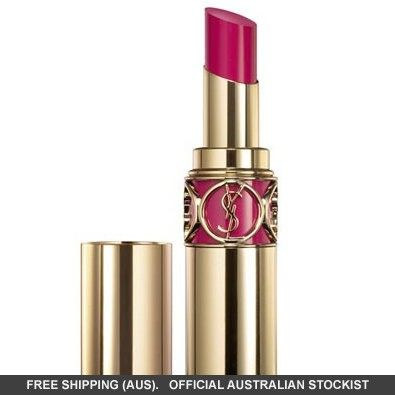 Yves Saint Laurent Rouge Volupte Silky Sensual Radiant Lipstick SPF 15  No 15 Extreme Coral #adorebeautydreamhaul