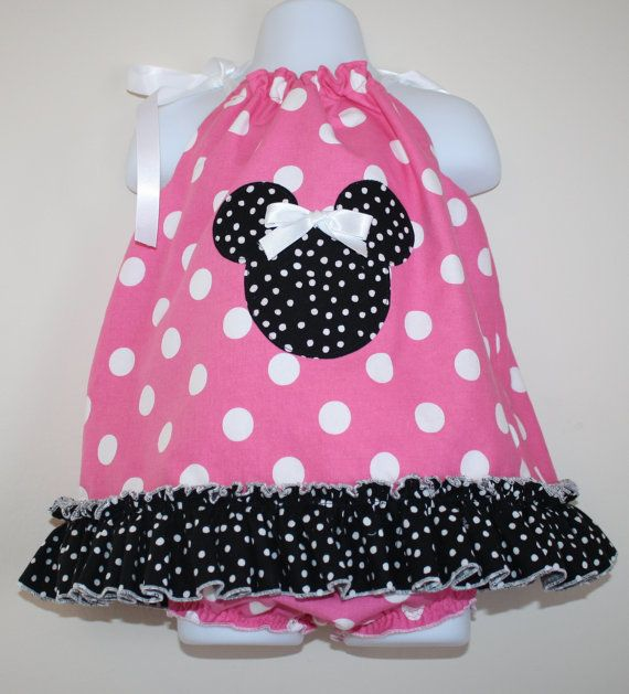 Minnie Mouse Inspired Pillowcase Dress and by AllAboutTheGlam $39.99 & 16 best Baby Clothing images on Pinterest   Minnie mouse 6 months ... pillowsntoast.com