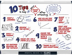 10 Tips to Increase your Imaan after a Lecture