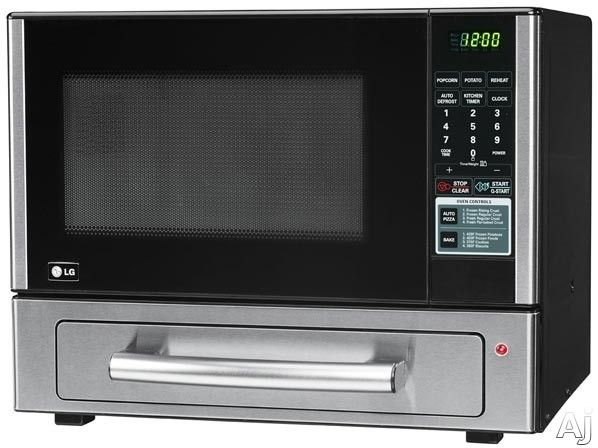 Lg Lcsp1110st 1 Cu Ft Combination Countertop Microwave Baking Drawer With 000 Watt