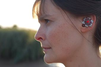 HearRings:     Designed by a partially deaf audiologist for her own hearing aids, Hearrings turn assistive devices into accessories. The earrings are made with Swarovski crystals and come in a variety of colors to match different outfits.