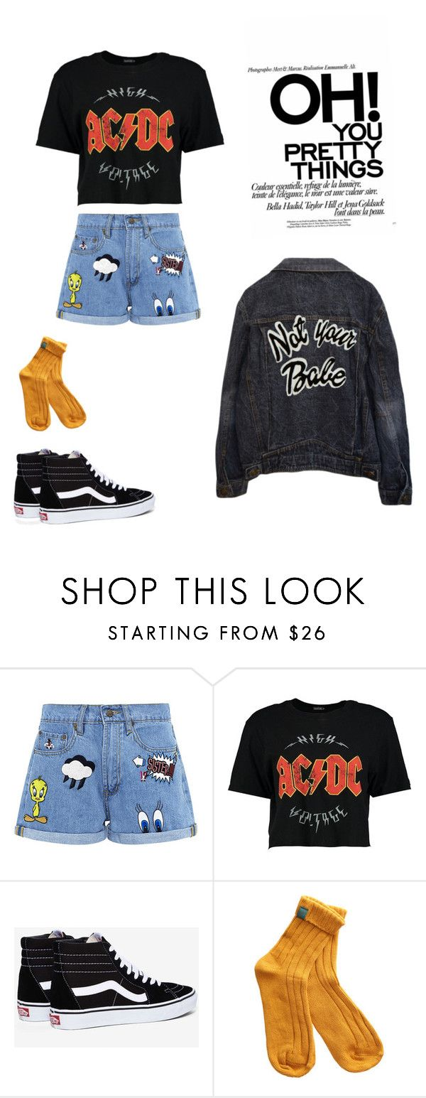 """""""#11"""" by caitlinetting on Polyvore featuring Paul & Joe Sister, Boohoo, Vans and High Heels Suicide"""