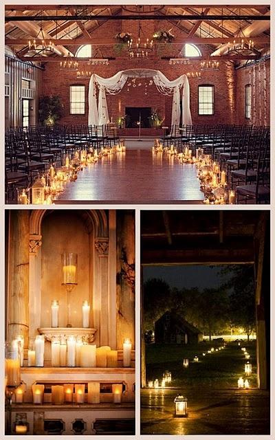 Candle Inspiration Wedding